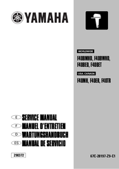 Yamaha F40BMHD Manuals