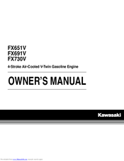 KAWASAKI FX651V OWNER'S MANUAL Pdf Download