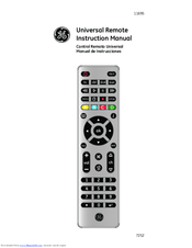Ge 24993-v2 ge universal remote control user manual | page 32 / 44.