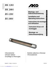 Stufetta radiante Dimplex BS 1201 S AKO