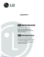 lg lsc27931st manuals rh manualslib com LSC27937ST LG Water Filter LSC27931ST Parts