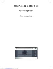 Aeg Electrolux Competence B 8139 5 M Manuals