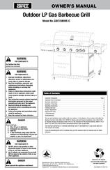 Blue Rhino Gbc1586we C Manuals