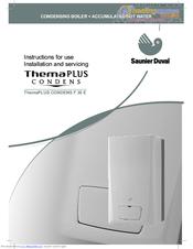 saunier duval themaplus condens f 30 e manuals rh manualslib com