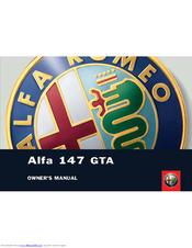 alfa romeo alfa 147 gta owner's manual