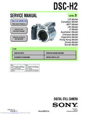 sony cybershot dsc h20 service manual repair guides