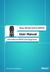 shaw gateway hdpvr manuals rh manualslib com Gateway Computer Manuals shaw gateway portal user manual