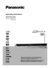 panasonic dmr ex85 manuals rh manualslib com Panasonic DVD Recorder with Tuner Panasonic Professional DVD Recorder