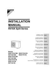 daikin rxs71fv1b manuals rh manualslib com daikin room air conditioner operation manual r410a Daikin Heat Pump Manual