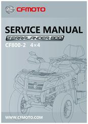 Cfmoto Terralander 800 CF800-2 Manuals
