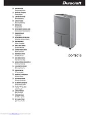 duracraft dd tec10 manuals rh manualslib com Duracraft Humidifiers for Home Fisher-Price Duracraft Fans
