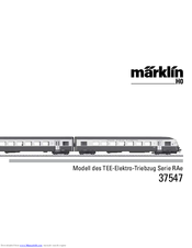 marklin 37547 manuals rh manualslib com User Guides Samples Instruction Manual Example