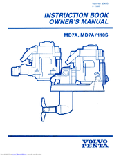 Volvo penta MD7A/110S Manuals | ManualsLib | Volvo Md7a Wiring Diagram |  | ManualsLib