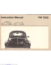 volkswagen vw 1302 s instruction manual pdf download rh manualslib com Beetle 1302s 1972 VW Super Beetle Specs