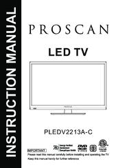 Proscan 32la25q manuals.