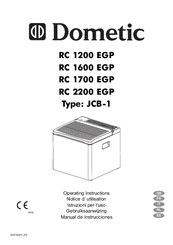dometic type jcb 1 manuals rh manualslib com Dometic Thermostat Dometic Americana RM2652 Manual