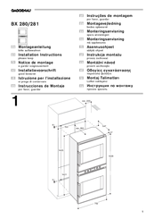 gaggenau bx 280 manuals rh manualslib com gaggenau ovens manual gaggenau refrigerator manual