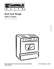 Kenmore C970-44183 Use & Care Manual