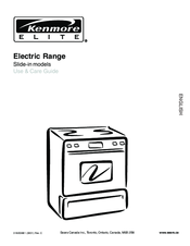 Kenmore C970-44098 Use & Care Manual