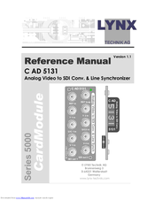 Lynx CardModule C AD 5131 Manuals