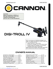 Cannon digi-troll 10 electric downrigger youtube.