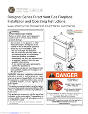 vermont castings stldvpnsc manuals vermont castings stldvpnsc installation and operating instructions manual