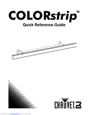 chauvet colorstrip manual how to and user guide instructions u2022 rh taxibermuda co User Manual Corvette Owners Manual