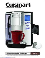cuisinart ss 10 manuals rh manualslib com cuisinart keurig coffee maker user manual Descaling My Keurig Coffee Maker