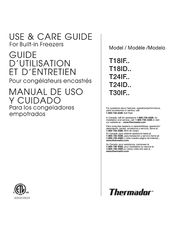 thermador t24if series manuals rh manualslib com thermador mces user manual thermador user manual for oven cm301