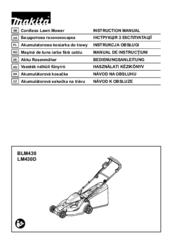 makita 158cc lawn mower manual