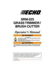 ECHO SRM-225 OPERATOR'S MANUAL Pdf Download