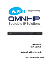KT&C KNR-p4Px4 NVR Drivers for Mac Download