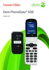 Doro phoneeasy 626 manuals.