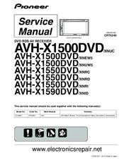 [SCHEMATICS_43NM]  PIONEER AVH-X1500DVD/XNUC SERVICE MANUAL Pdf Download | ManualsLib | Wiring Diagram Pioneer Avh 1500 Dvd |  | ManualsLib