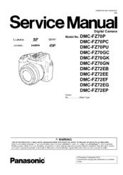Panasonic lumix dmc-fz70 advanced camera user guide instruction.