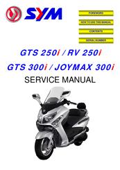 Sym gts 125 service manual.