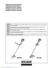 Dolmar MS-253 Manuals