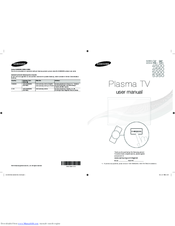 Samsung PN51F5300 User Manual
