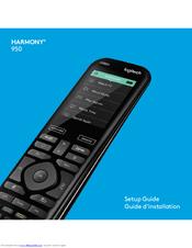 logitech harmony 950 setup manual pdf download rh manualslib com Universal Remote Control logitech harmony 890 pro manual