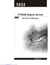 MSI P7NGM-DIGITAL DRIVER WINDOWS 7 (2019)