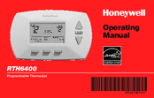 Honeywell RTH6400 Series Operating Manual