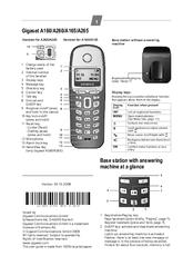 Gigaset a160 a165 user guide.