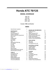 honda atc 90 manuals rh manualslib com 1971 Honda ATC 90 1970 Honda ATC 90