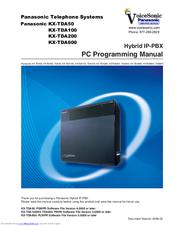 panasonic hybrid ip pbx kx tda200 manuals rh manualslib com panasonic pabx installation manual pdf panasonic pbx ns500 manual