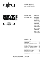 fujitsu aou24rlxfz service manual pdf download rh manualslib com RV Toilets Installation Diagrams fujitsu aou24rlxfzh installation manual