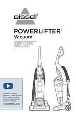 Bissell POWERLIFTER 1309 SERIES User Manual