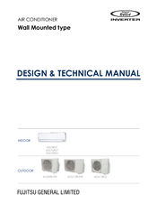 Fujitsu AOU12RLFW Design & Technical Manual