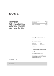 Sony BRAVIA KDL-32R300C Operating Instructions Manual