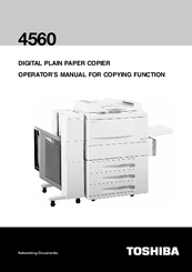 toshiba 4560 operator s manual pdf download rh manualslib com Toshiba TV Service Manual Toshiba Parts Manuals
