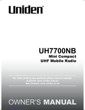 uniden uh7700nb manuals rh manualslib com Uniden Digital Answering System Manual Uniden Model Tr620-2 Manual
